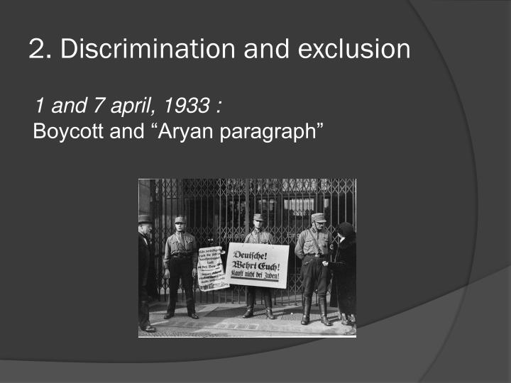 the undeserved discrimination and exclusion of the Chapter two describes the modern civil rights movement's myopic spotlight on discrimination to the exclusion of other plausible causes of—and solutions to—racial, gender, economic, and other disparities.