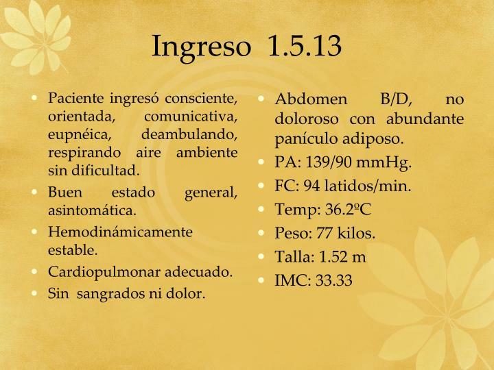 Ingreso  1.5.13