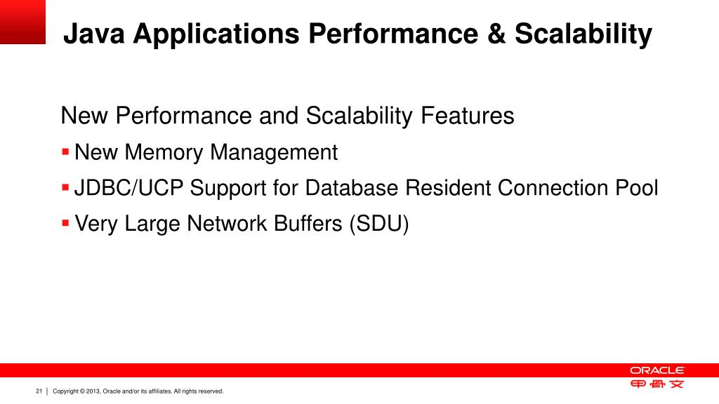 PPT - What's New for Java in Oracle Database 12c PowerPoint