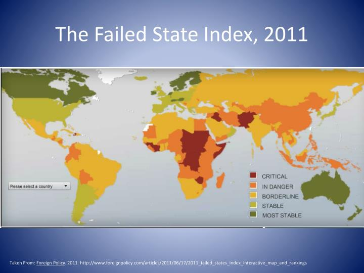 the failed state index 2011 n.