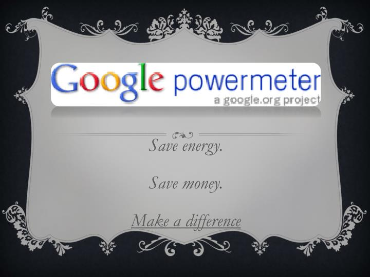 save energy save money make a difference n.
