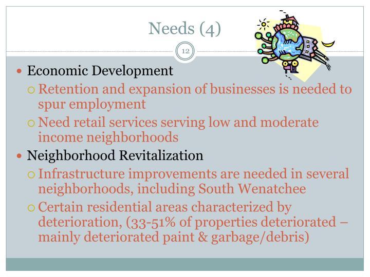 Needs (4)