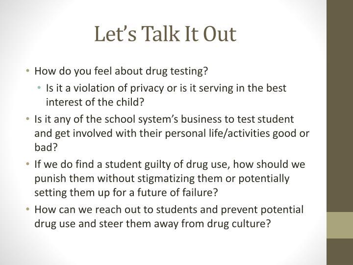 Let's Talk It Out