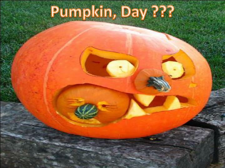 Pumpkin, Day ???
