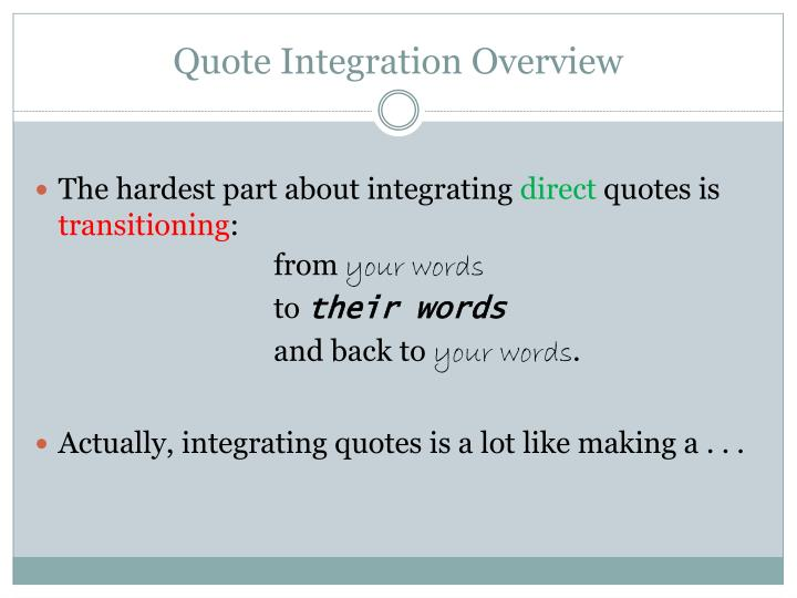 PPT Quote Integration PowerPoint Presentation ID60 Interesting Quote Integration