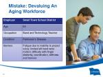 mistake devaluing an aging workforce