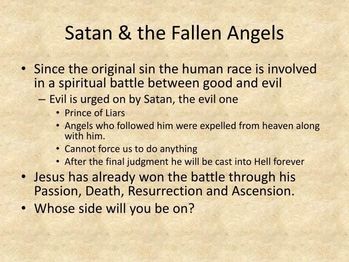 Satan & the Fallen Angels
