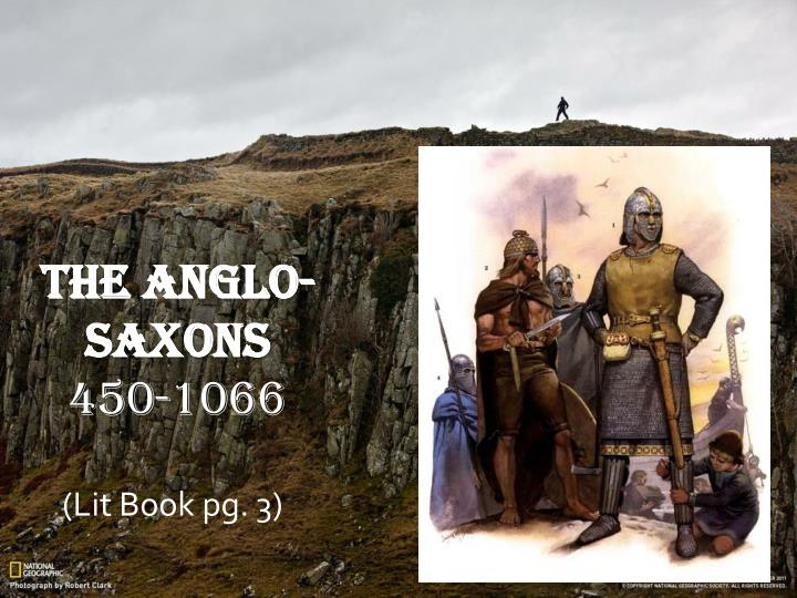the anglo saxons 450 1066 n.