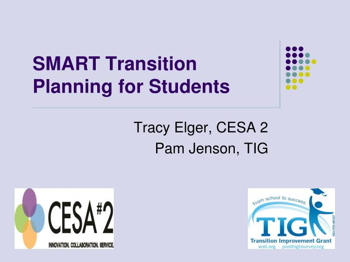 smart transition planning for students n.