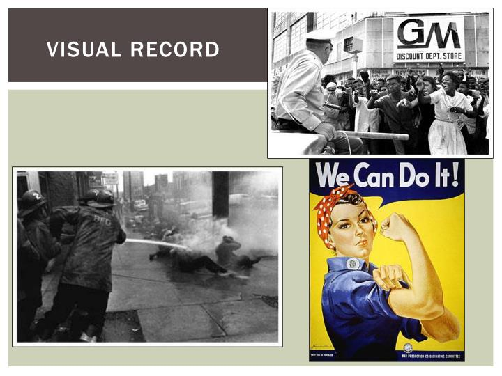Visual record