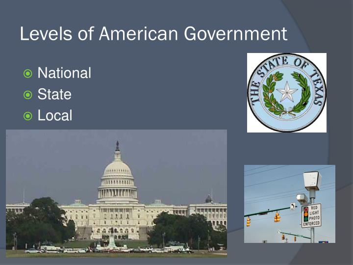 Levels of American Government