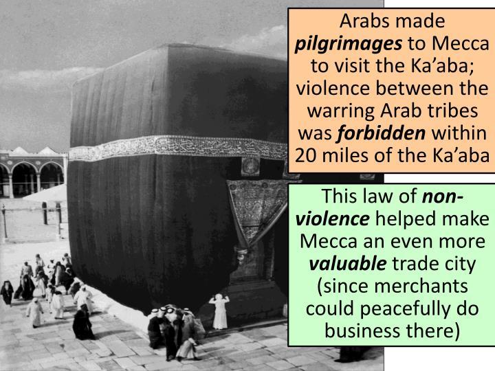 Arabs made