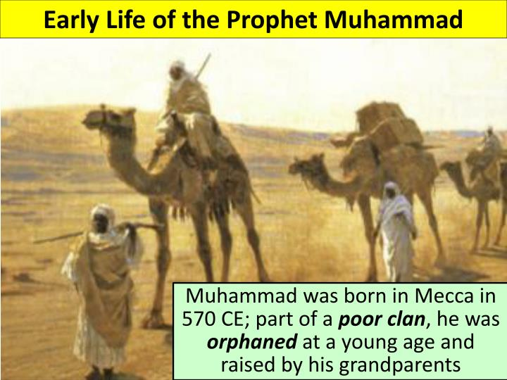 Early Life of the Prophet Muhammad