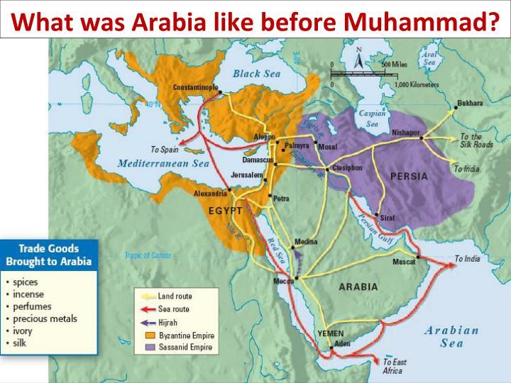 What was Arabia like before