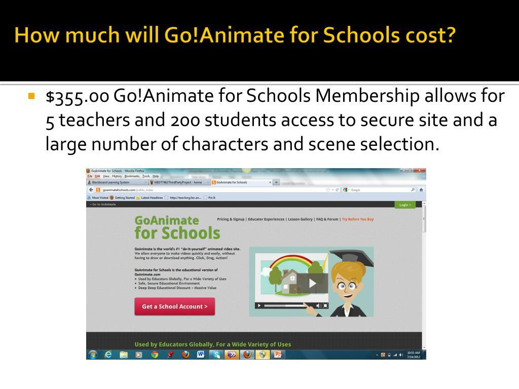 PPT - Go!Animate PowerPoint Presentation - ID:2865848