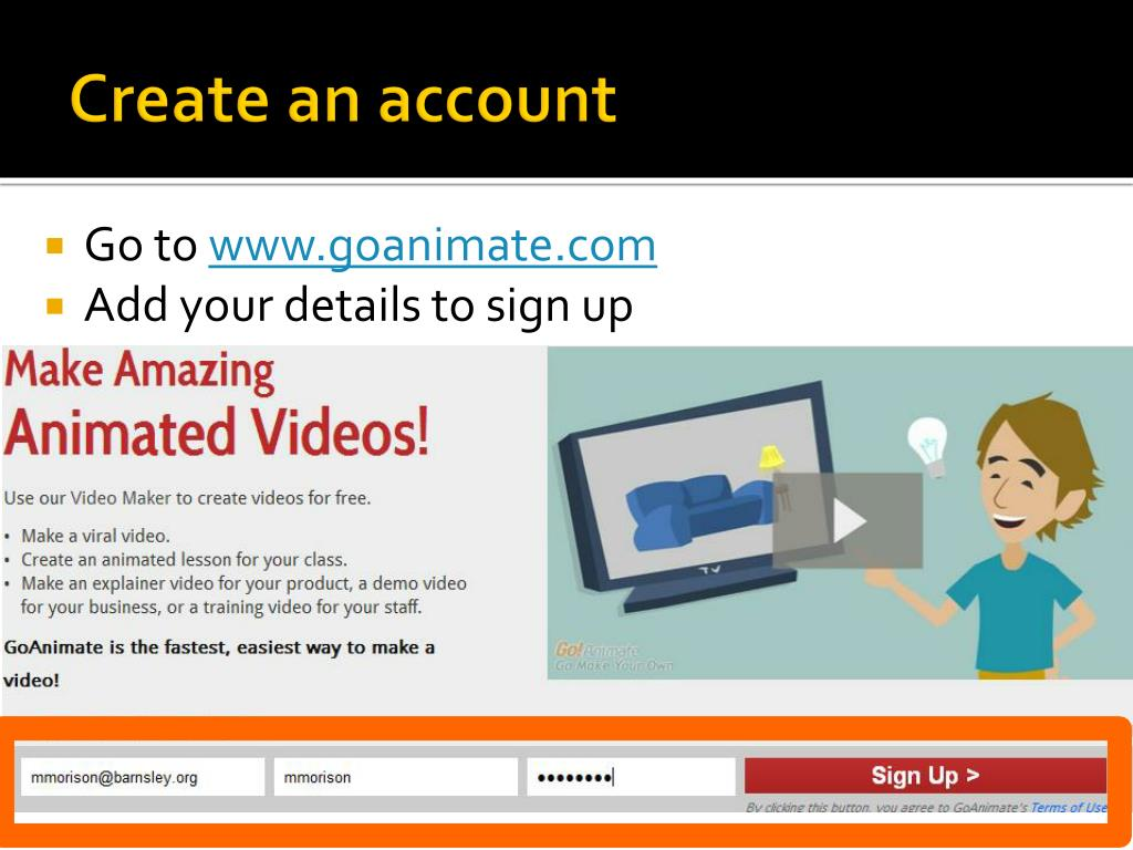 PPT - Go Animate ! PowerPoint Presentation - ID:2865851