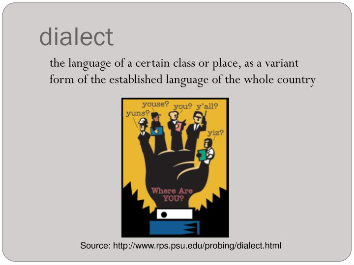 dialect