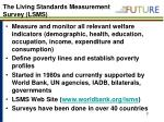 the living standards measurement survey lsms