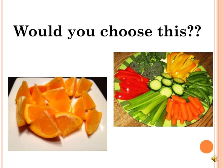 Would you choose this??