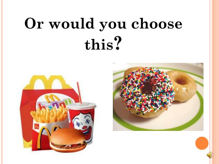 Or would you choose this