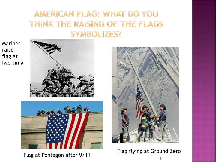 American Flag: What do you