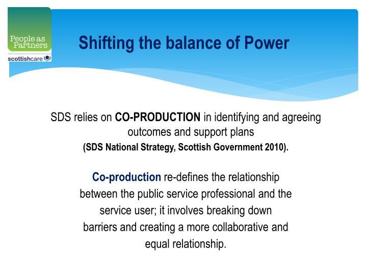 Shifting the balance of Power