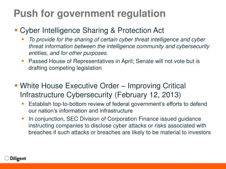 cyber intelligence sharing and protection act