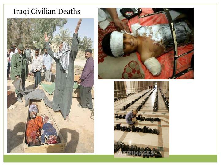 Iraqi Civilian Deaths