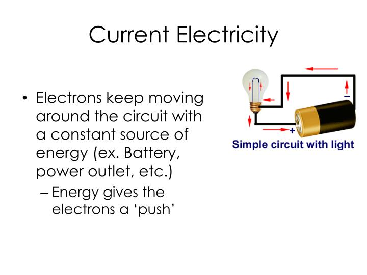 Current electricity1