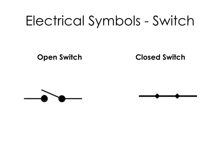 Electrical Symbols - Switch