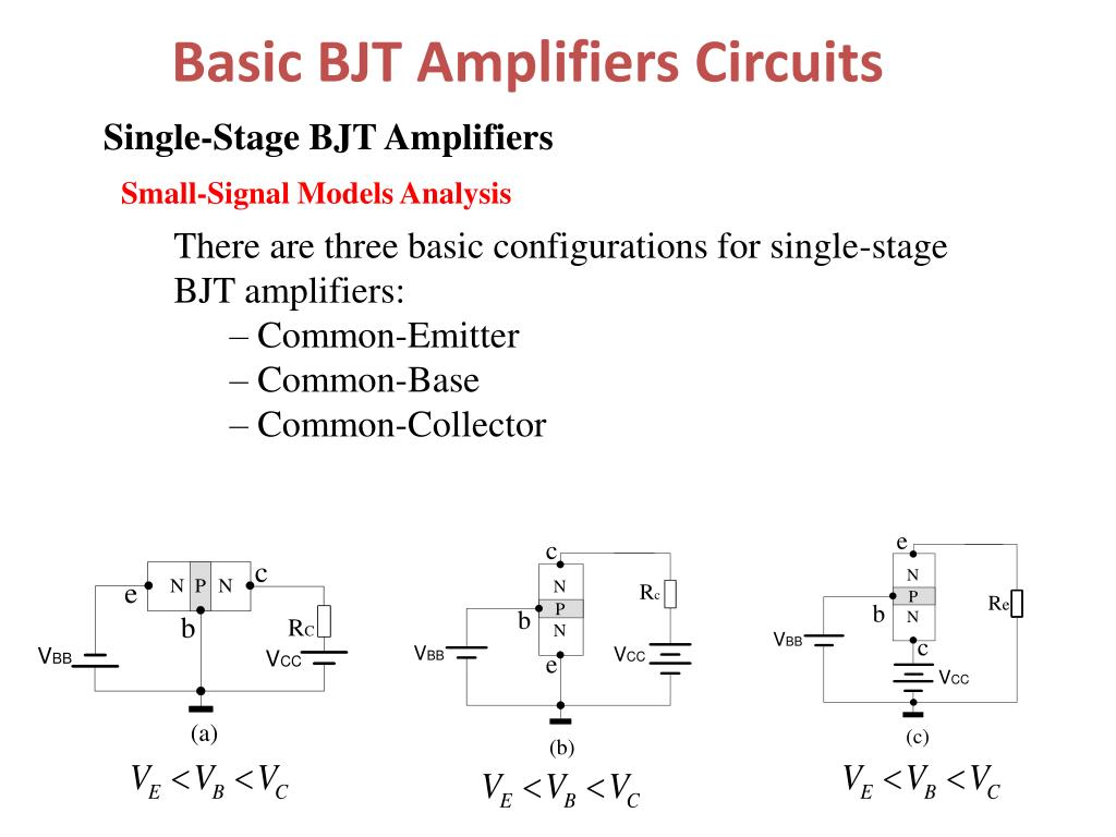 Commonbase Amplifier B Smallsignal Equivalent Of The Amplifier