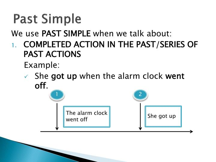 when use past simple