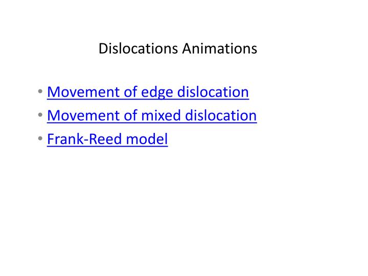 dislocations animations n.