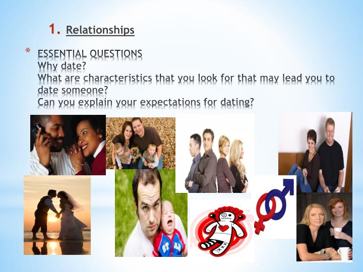 Essential dating questions