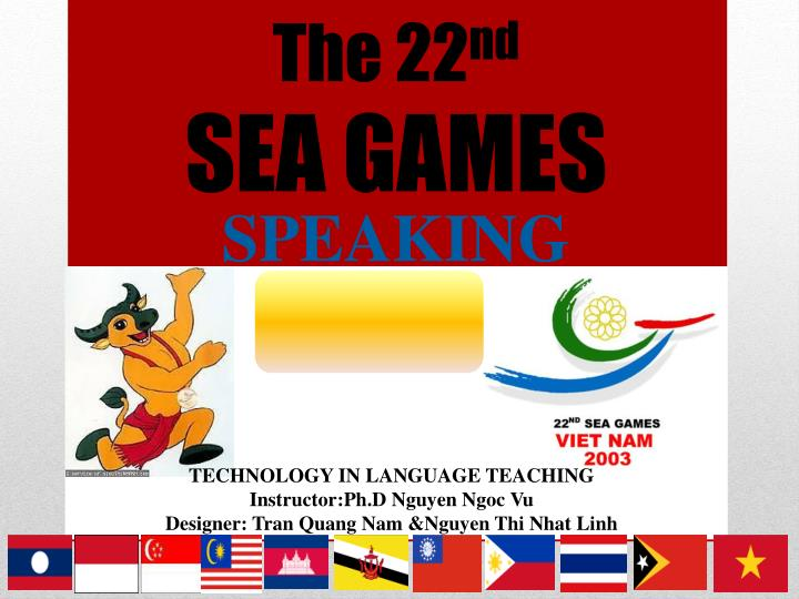 Ppt The 22 Nd Sea Games Powerpoint Presentation Free