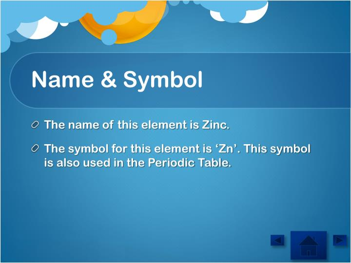 Ppt element zinc powerpoint presentation id2869749 name symbol urtaz Image collections
