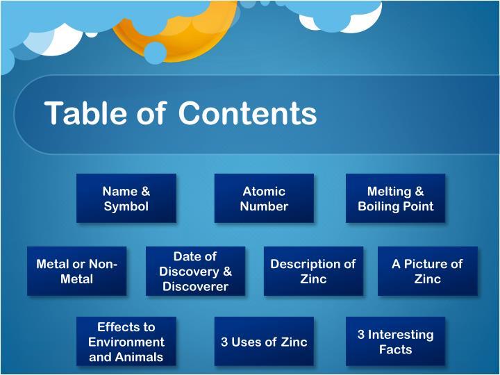 Ppt Element Zinc Powerpoint Presentation Id2869749