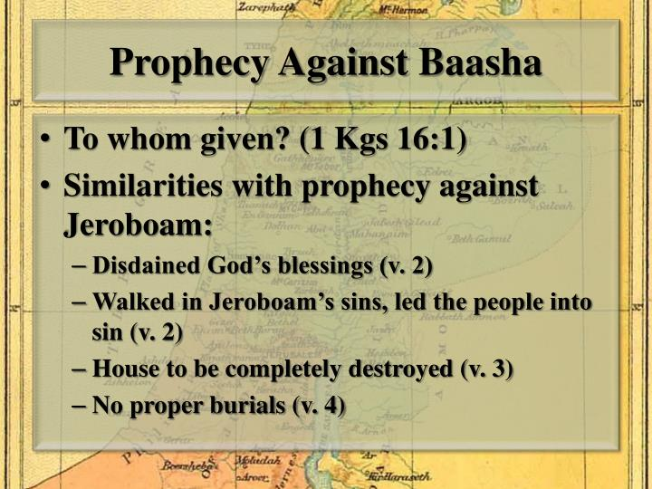 Prophecy Against