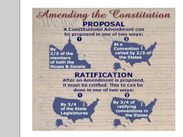 Ppt Amending The Constitution Powerpoint Presentation Id2869984