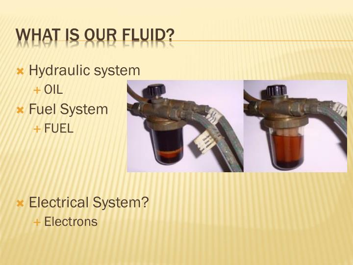 What is our fluid