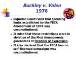 buckley v valeo 1976