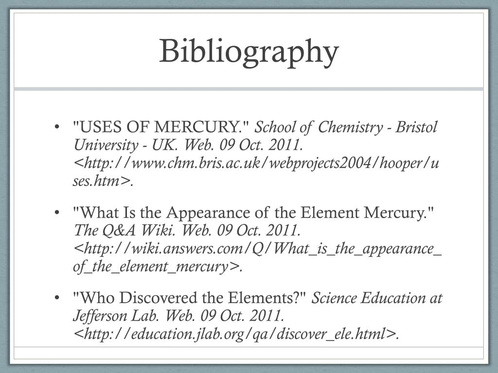 PPT - Mercury PowerPoint Presentation - ID:2870411