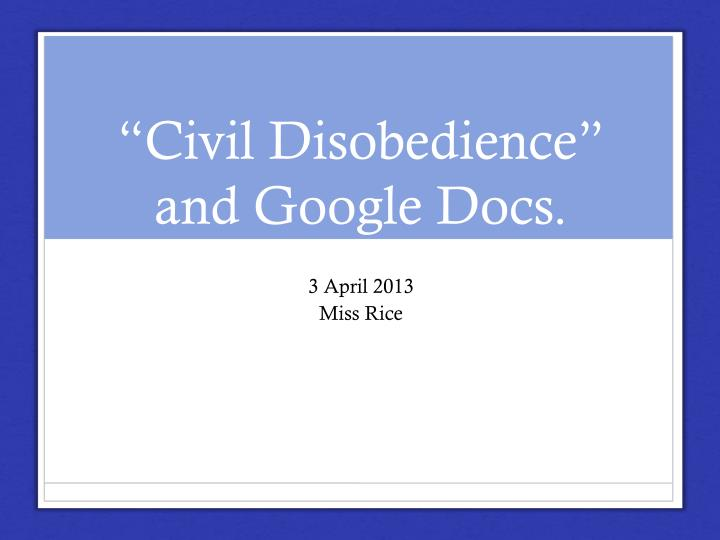 cons of civil disobedience Civil disobedience is defined as the refusal to obey government laws, in an effort to bring upon a change in governmental policy or legislation.