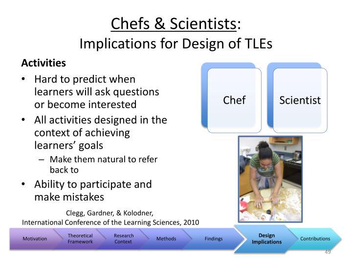 Chefs & Scientists