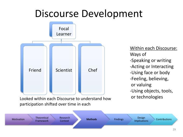 Discourse Development