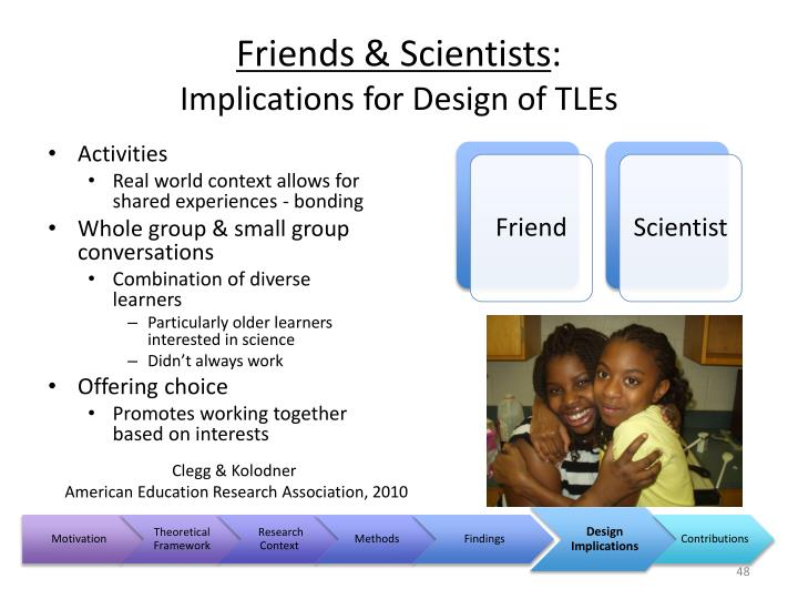 Friends & Scientists