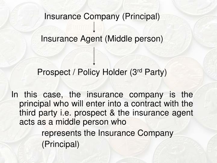 Insurance Company (Principal)