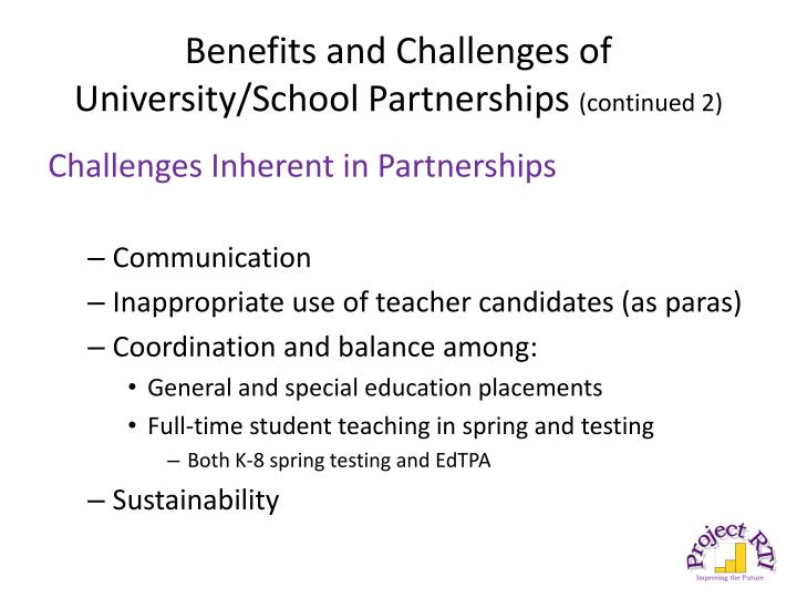 Benefits and Challenges of