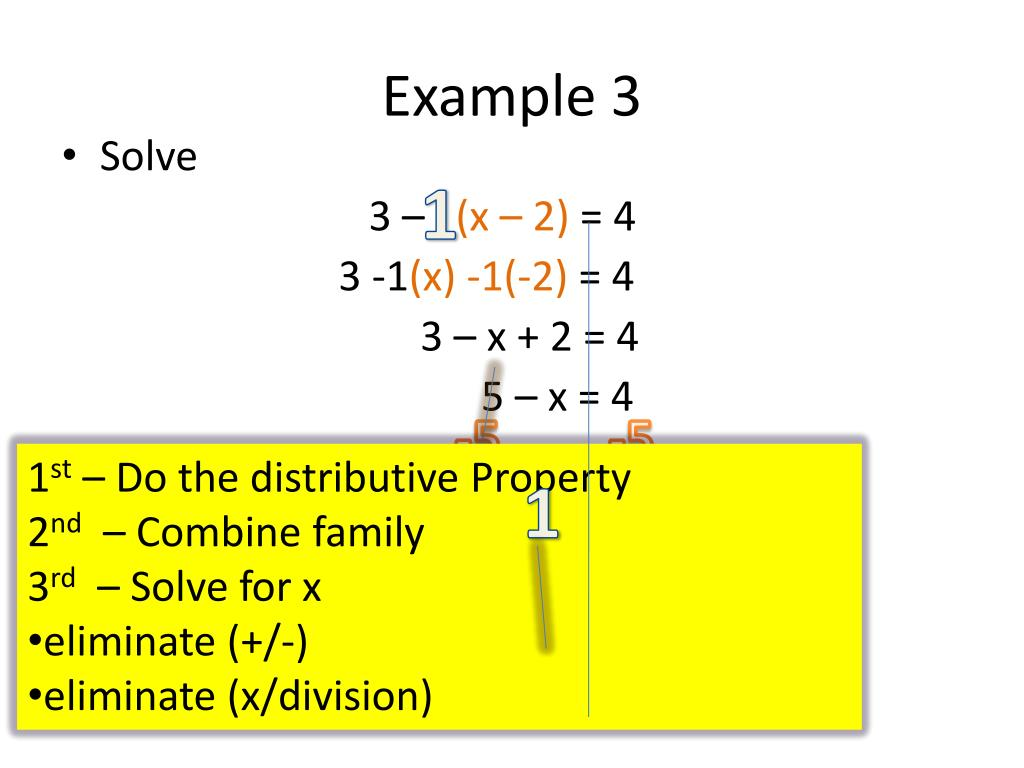 PPT - Solving Multi-Step/Distributive Equations PowerPoint