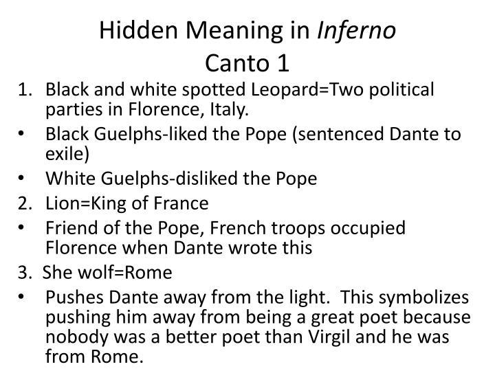 Hidden Meaning in